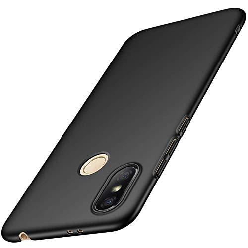Toppix Case for Xiaomi Redmi S2 / Redmi Y2, Hard PC Backcover [Anti-Scratch] [Ultra-Light] Super Slim Protective Cover for Xiaomi Redmi S2 / Y2 (Black)