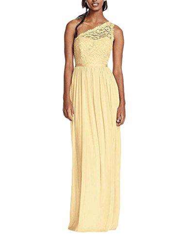 KA Beauty - Vestido - para mujer amarillo