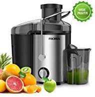 Juicer Extractor,FOCHEA Centrifugal Juicer 400W Powerful Juicer Machine For Fruits Vegetable