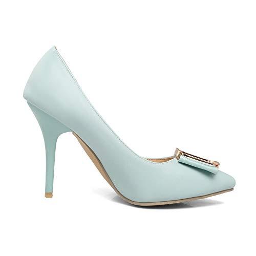Bleu 5 36 BalaMasa Sandales Bleu Compensées APL10834 EU Femme WqgqnAa4