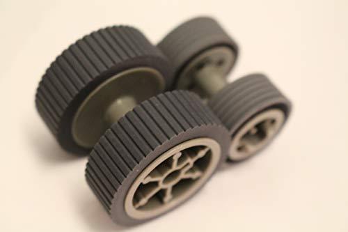 Shless Scanner Brake and Pick Roller for Fujitsu Sets FI-6140, FI-6240, FI-6130, FI-6230, FI-6130 (Brake Roller)
