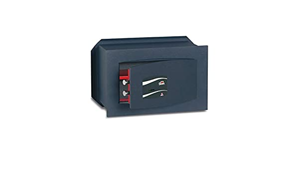 SCE8M123 Caja Fuerte de Empotrar con Llave, 12.3 L Volumen: Amazon ...