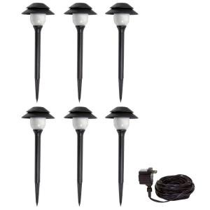 Malibu 6 Pack Pathway LED Tier Lights  Low Voltage Outdoor Path Lighting  for the Yard  Garden  Patio  Driveway or any Landscape Malibu Landscape Lights LED  Amazon com. Malibu Landscape Lighting Reviews. Home Design Ideas