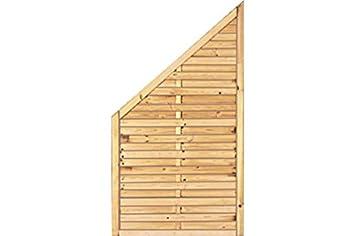Sichtschutzzaun Holz Kiefer Fichte 100 X 180 90 Cm Serie Fohr