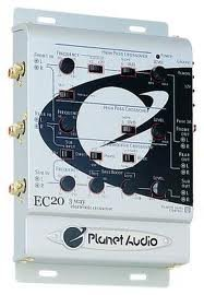 Planet Audio EC20, 3-way Activ Cross-Over