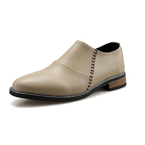 Afilados zapatos de verano/Zapatos casual de negocio pedal/Zapatos Brit Pop hombres A