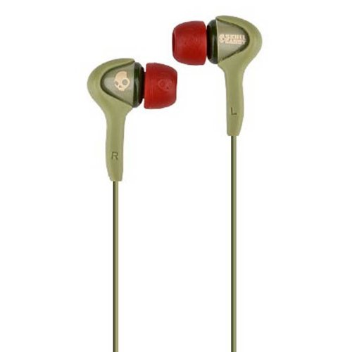 - Skullcandy Smokin Bud- Mic'd/dB in Ear Buds in Habitat Rasta