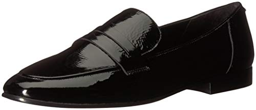 Kate Spade New York Women's Genevieve Loafer, Black Crinkle Patent, 9.5 M US