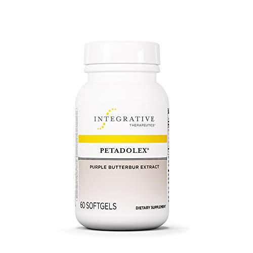 Integrative Therapeutics - Petadolex - Purple Butterbur Extract - Healthy Blood Vessel Relaxation of the Brain - 60 Softgels