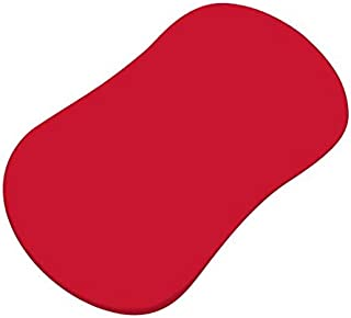 product image for SheetWorld Fitted Bassinet Sheet (Fits Halo Bassinet Swivel Sleeper) - Solid Red Jersey Knit - Made In USA