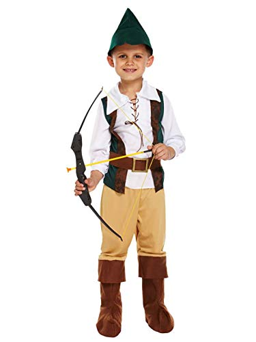 Rimi Hanger Kids Boys Fancy Hunter Toddler Costume Children Halloween Party Wear Outfit 7-9 Years]()