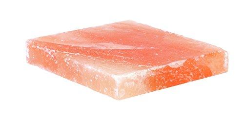 "Charcoal Companion CC6058 Himalayan Salt Plate, 8"" x 8"" x 1.5"""
