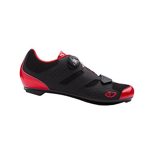 bright Ciclismo Da Uomo black Road Scarpe Multicolore 000 Giro Red Savix wC1q0wR