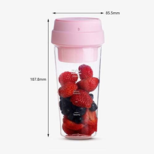 QFF Blender Portable Juicer électrique Cup Juicer Portable Petit jus Cup 400ML Fruit Mixer Machine for la Maison/Bureau/extérieur