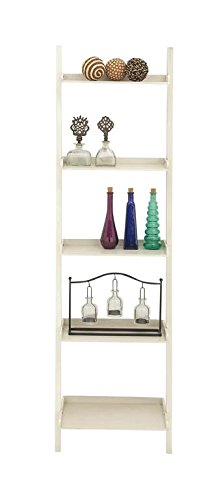 Shelf, 20 by 69-Inch, Antique White (Abstract Bookcase)