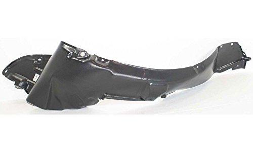 Evan-Fischer EVA18372030589 Splash Shield Front Passenger Side Right RH Fender Liner Plastic Replaces Partslink# NI1249105 (Fender Flare Nissan Xterra compare prices)