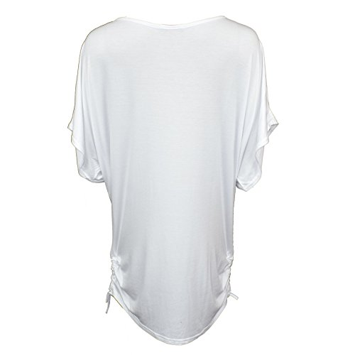 Vanilla Inc - Camisas - para mujer White butterfly print