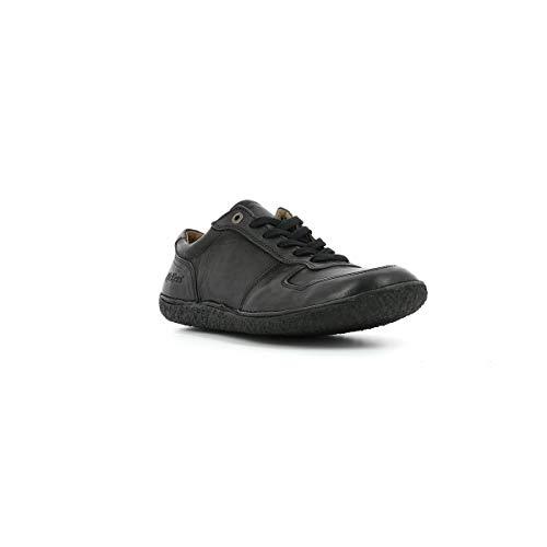 Lisa De Mujer Cordones Piel Zapatos Kickers w4q6Z7I