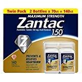 - Zantac 150 Maximum Strength Heartburn Relief & Acid ReducerTablet (140 ct.)