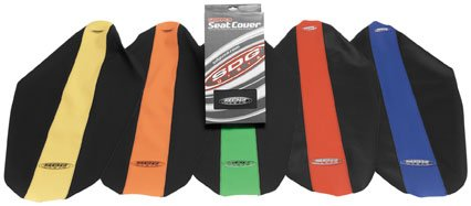 SDG USA Dual-Stage Gripper Seat Cover, Orange Top with Black Sides ()
