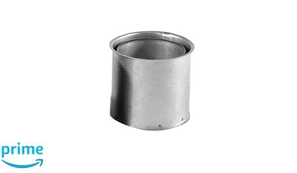 Kamino - Flam - Tubo doble pared forro (Ø 110 mm), Doble pared forro para estufa de leña, chimeneas y hornos de leña - acero resistente a altas temperaturas ...