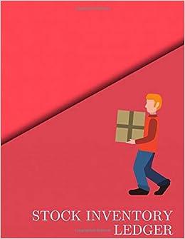 Amazon com: Stock Inventory Ledger: Record Stock inventory movement
