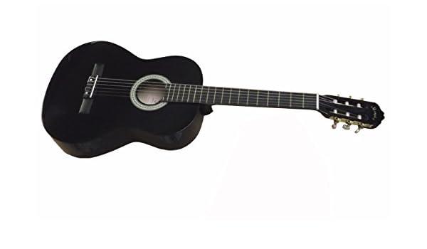 MEMPHIS FT951BK NEGRA GUITARRA CLÁSICA: Amazon.es: Instrumentos ...