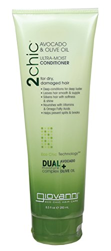 Moist Olive (Giovanni 2chic Avocado and Olive Oil Ultra-Moist Conditioner, 8.5 Fluid Ounce)