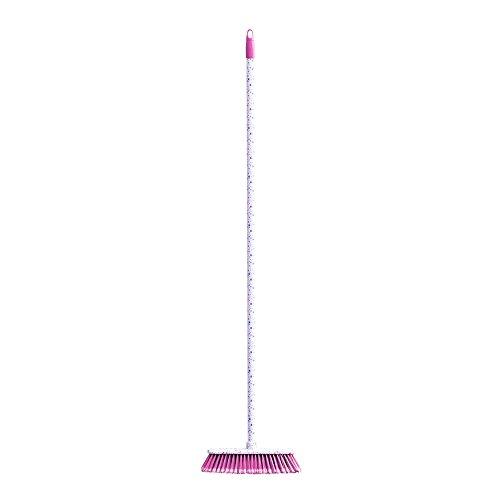 Je Cherche Une Idee ME2245Classic Plastic Broom Blue/Purple 29x 6.5x 127cm Colour May Vary