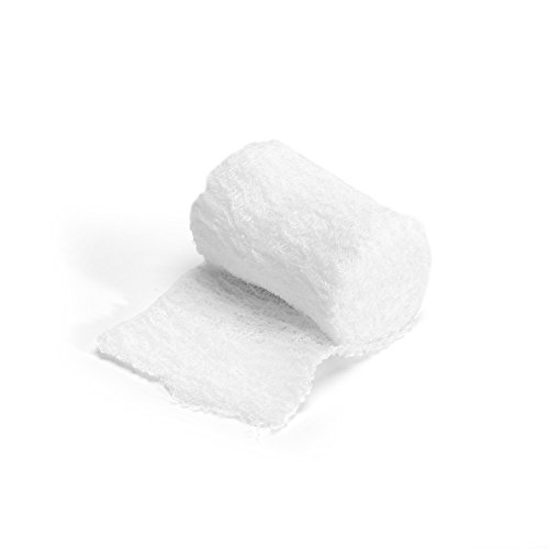 MediChoice Gauze Roll Bandage, 3-Ply, Non-Sterile, 3 inch x 4 Yards, White, 1314GZBN2002 (Case of 96)