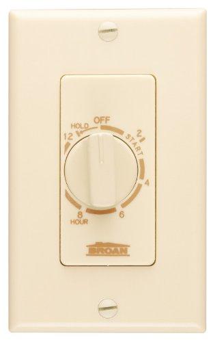 Broan Single Heater - Broan 71V Time Control, 12-Hour, Ivory