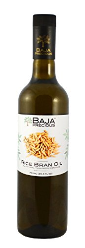 Oil Rice Cooking - Baja Precious - Rice Bran Oil, 750ml (25.3 Fl Oz)