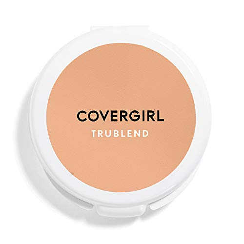 (COVERGIRL truBlend Pressed Blendable Powder, Translucent Medium .39 oz (11 g) (Packaging may)