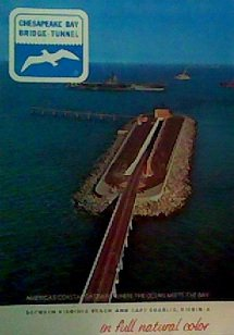 Chesapeake Bay Bridge (Chesapeake Bay Bridge-Tunnel in Full Natural Color)