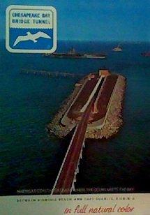 Chesapeake Bay Bridge Tunnel - Chesapeake Bay Bridge-Tunnel in Full Natural Color