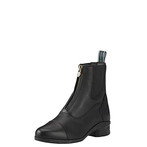 Ariat Women's Heritage Iv Zip H2O Work Boot, Black, 6.5 B US