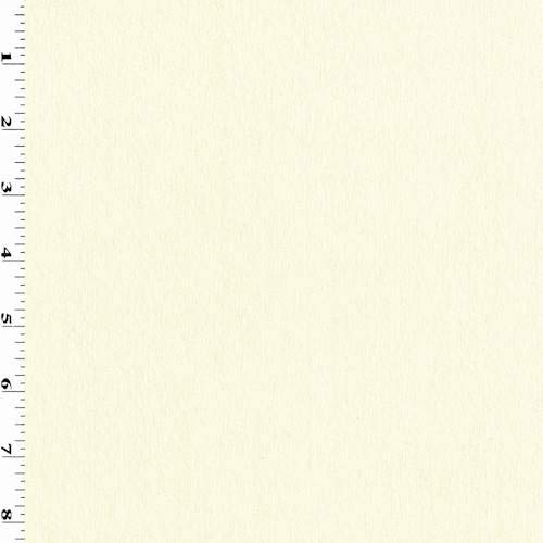 (Cream Ivory Tropical Wool Crepe Suiting, Fabric by The Yard)