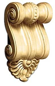 White River Petite Scrolled Corbel, Maple