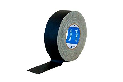 Junipel Matte Black Nonreflective Gaffers Tape 2 Inch X 60 Yards ()