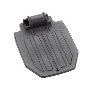 Invacare Corporation Inv44200X027 Aluminum Footplate Medium, 7-3/4'' X 6'', Black,Invacare Corporation - Each 1