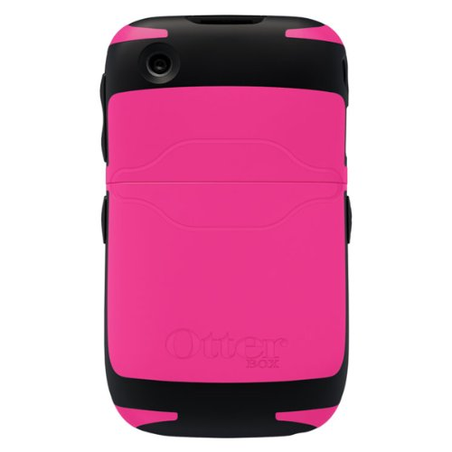 OtterBox Reflex Series Case for BlackBerry Curve 8500/9300 - 1 Pack - Retail Packaging - Pink/Black