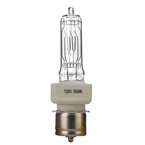 Boryli BTL P28S 120V 500W 500-watt 120-volt Medium Pre-focus Based Stage and Studio T6 Bulb, Clear