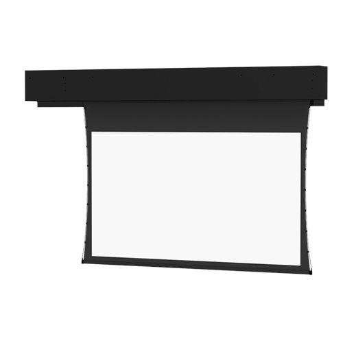 Tensioned Executive Electrol Grey Electric Projection Screen Viewing Area: 9' H x 9' W - Executive Electrol Screen