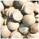 WIDGETCO 7/16'' Maple Button Top Wood Plugs