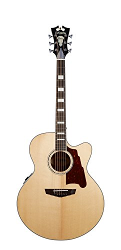D'Angelico Premier Madison Acoustic-Electric Guitar - - Neck Acoustic Electric Guitar Slim