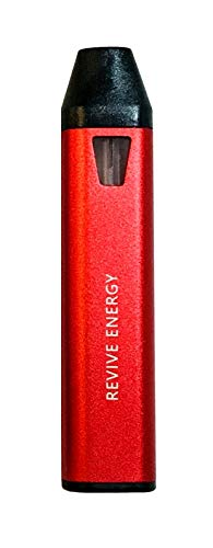 REVIVE ENERGY aromatherapy pen | Helps Restore Mental Energy and Alertness | 250 Servings | With benefits of organic essential - Starter E Pack Cig
