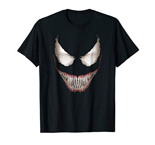 Marvel Venom Big Face Grin Halloween Costume Graphic