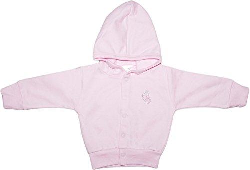 Creative Knitwear University of Wyoming Cowboys Newborn Infant Baby Snap Hooded Jacket