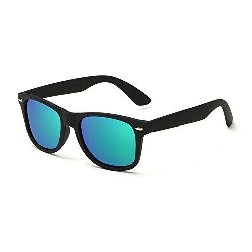Gafas UV400 Sol PC Polarizadas Para De Sol Unisex Vintage Blackboxbluegreen De Gafas r0wIFqr4