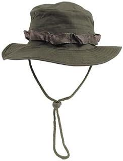 armyoutdoorshop MFH Boonie Hat Oliv Australian cespuglio Cappello Tropici Cappello a Tesa Cappello a Tesa Larga con Band S-XL